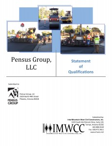 IMWCC Statement of Qualifications Cover